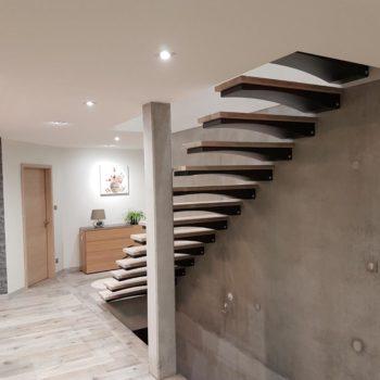 Escalier design autoporteur