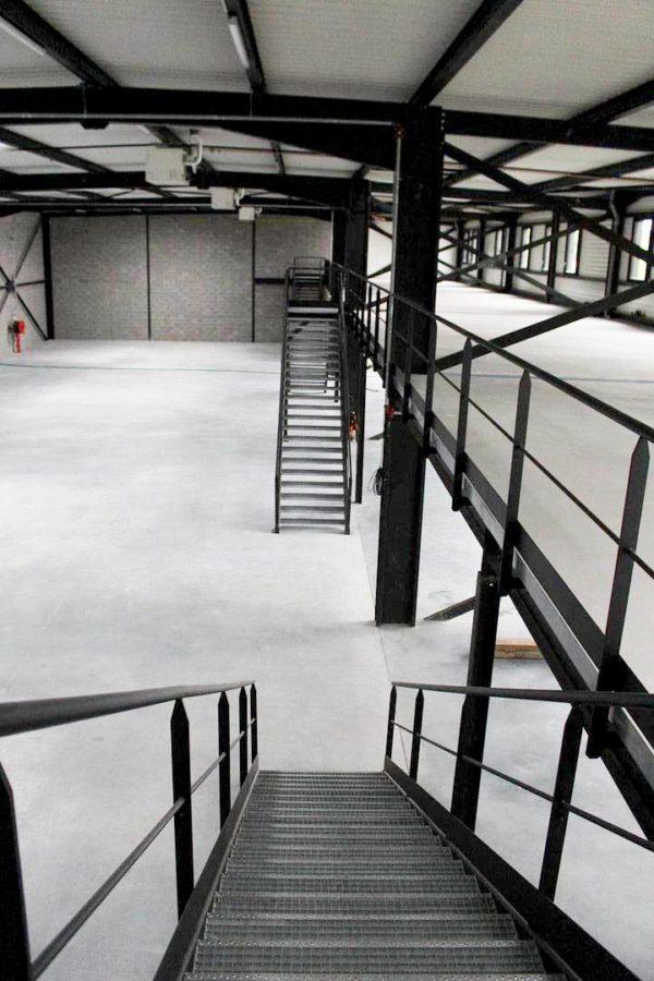 escalier industriel Haguenau (région)