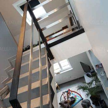 garde-corps escalier béton à schweighouse 1