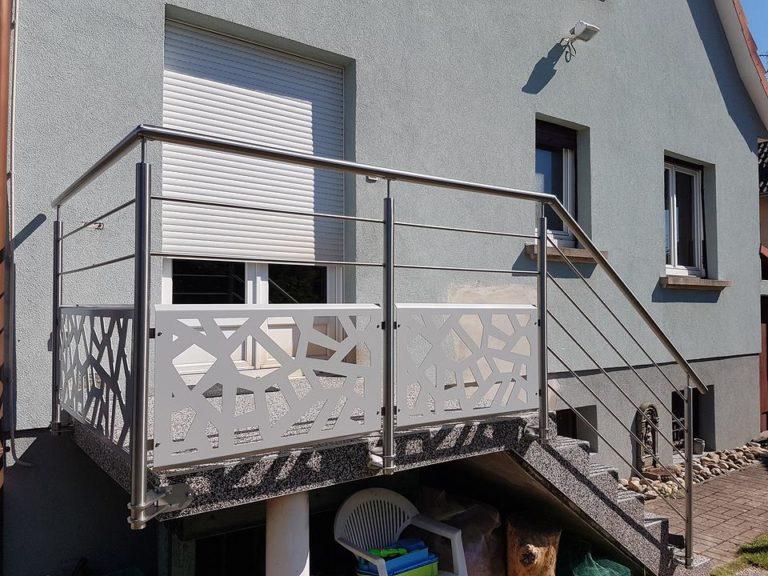 garde corps design ferronnerie haguenau r gion. Black Bedroom Furniture Sets. Home Design Ideas